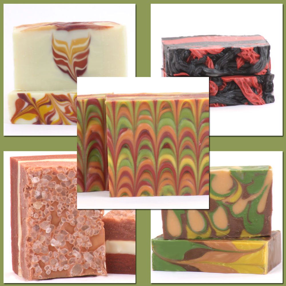 Gourmet Autumn Cold Process Soap Class