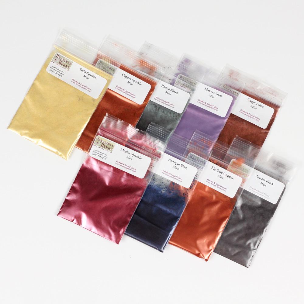 Earthtone Metallics Mica Sampler Pack