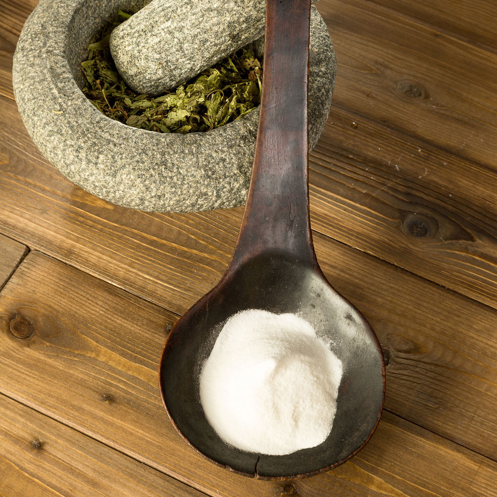 Stevia, White (bleached)