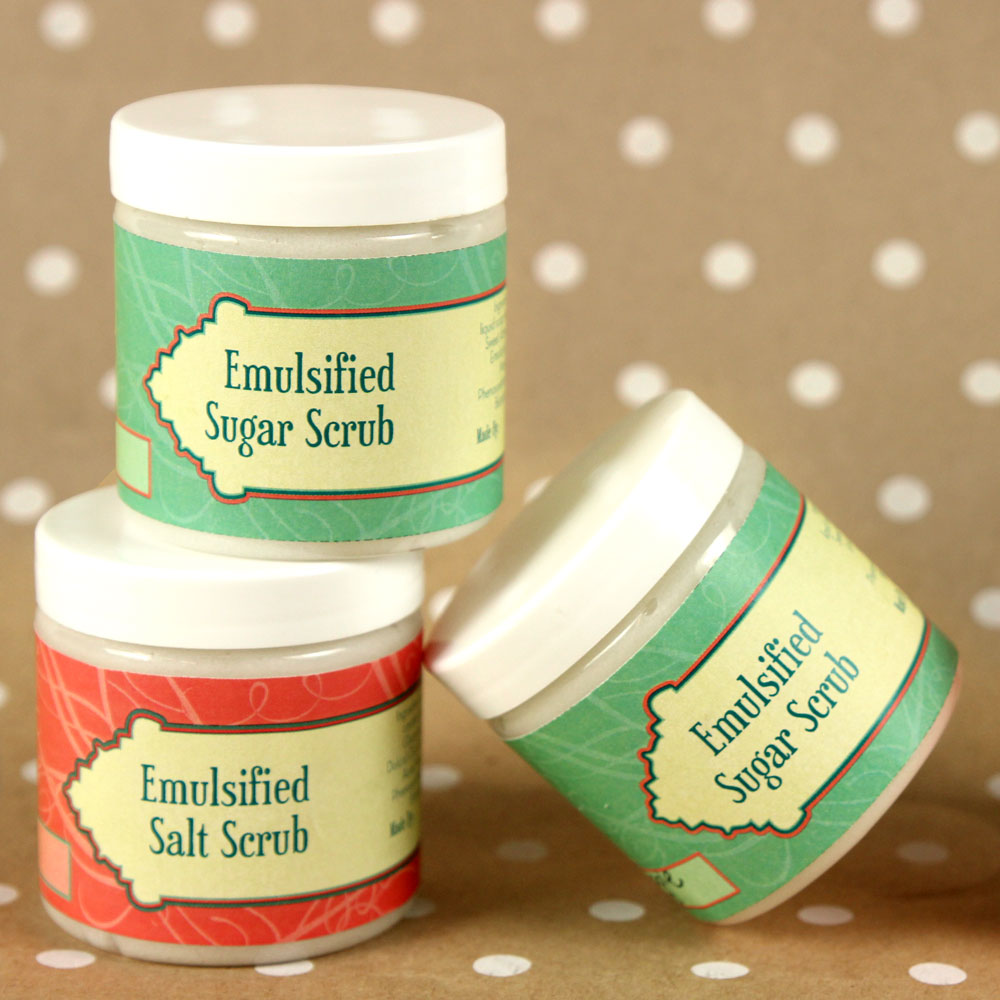 Emulsified Scrub Kit
