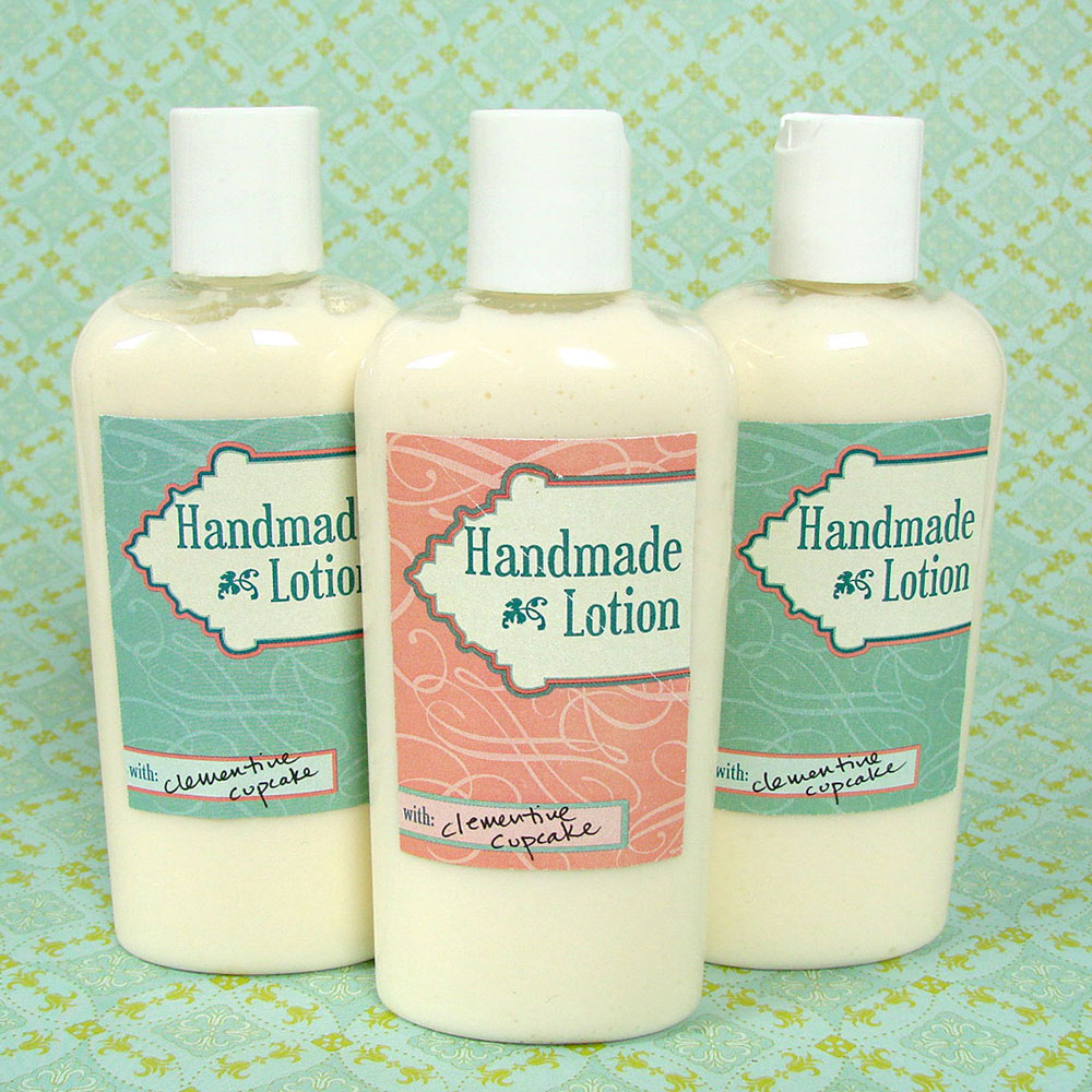Lotion Label Template - Free PDF download