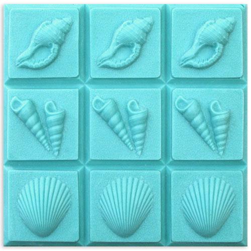 3-Shells Tray Mold