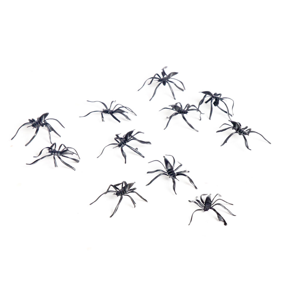 Toy Spiders - Set of 10