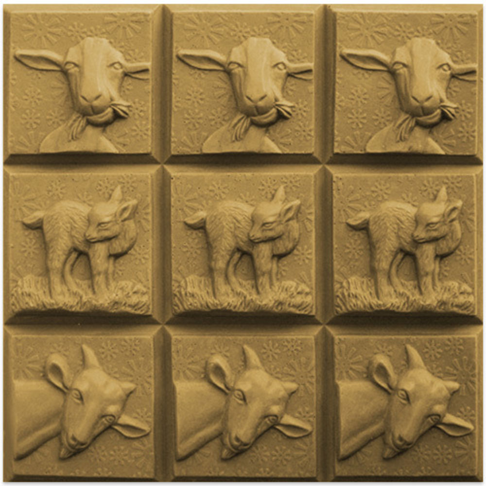 Three Goats Tray Mold