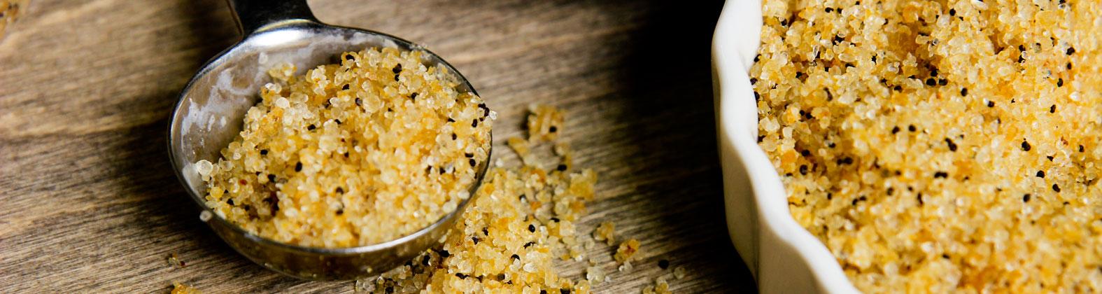 Orange Poppy Seed Salt Scrub