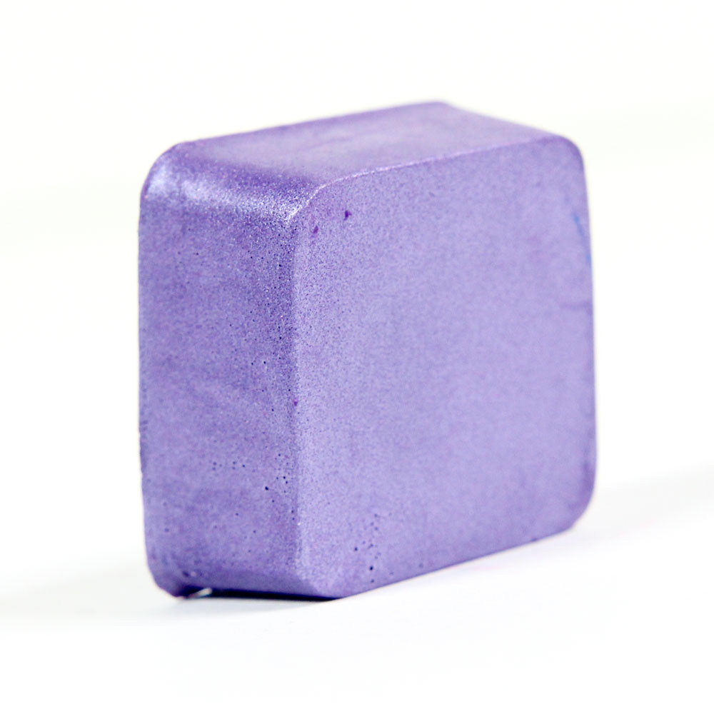 Color Block - Shimmer Lavender