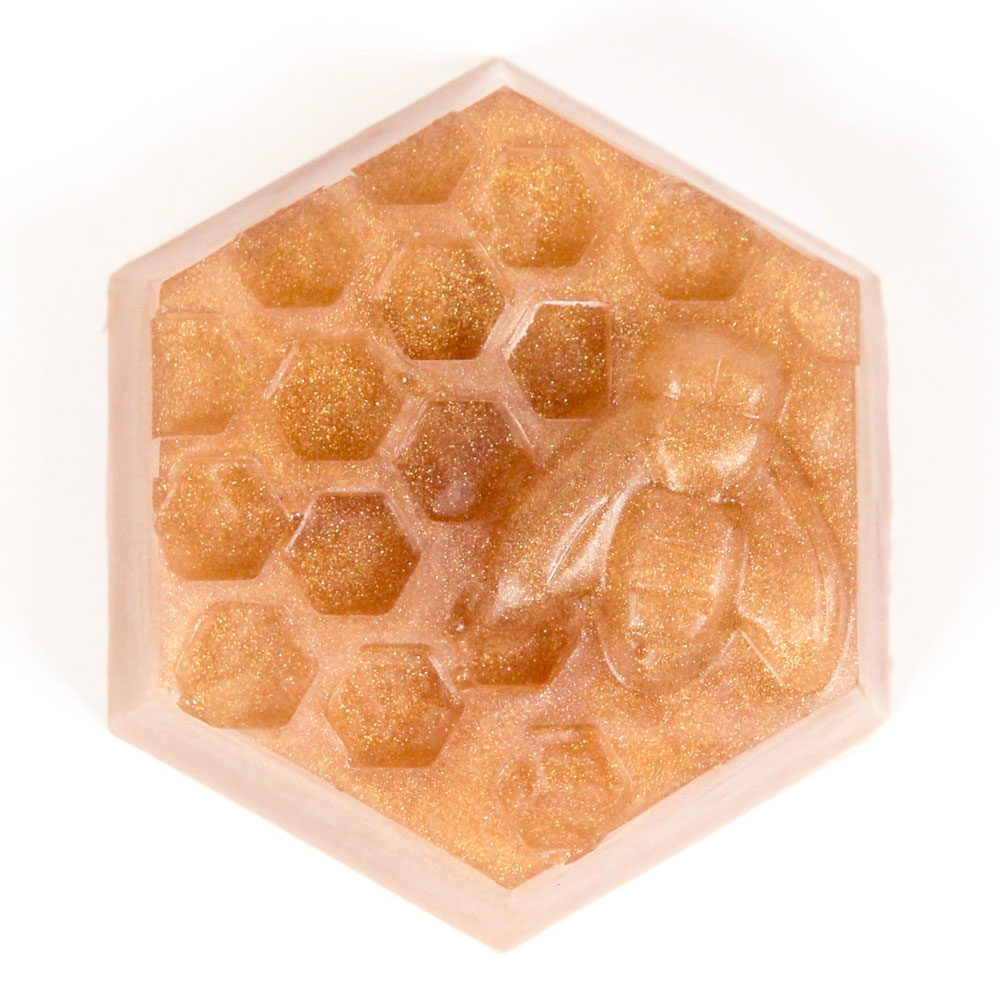 6 Cavity Honeycomb Silicone Mold