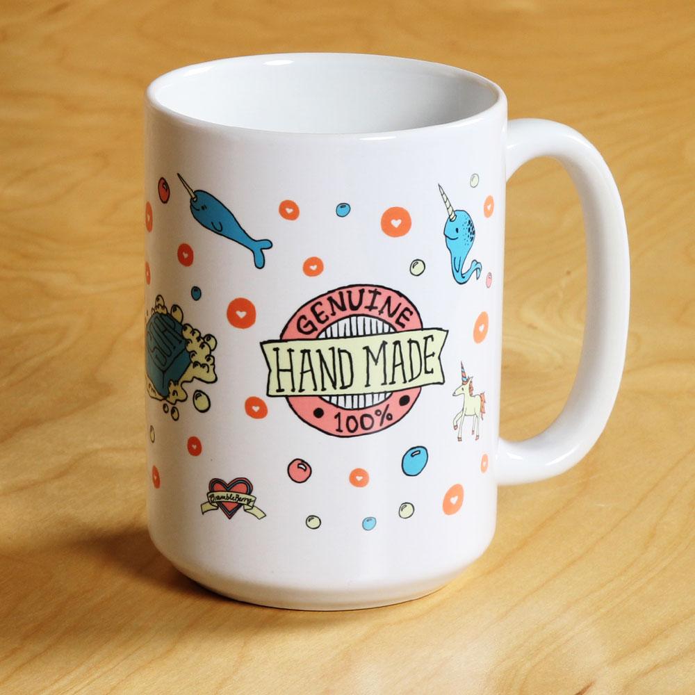 """100% Handmade"" Mug"