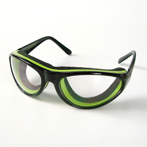 Black & Green Soapmaking Goggles
