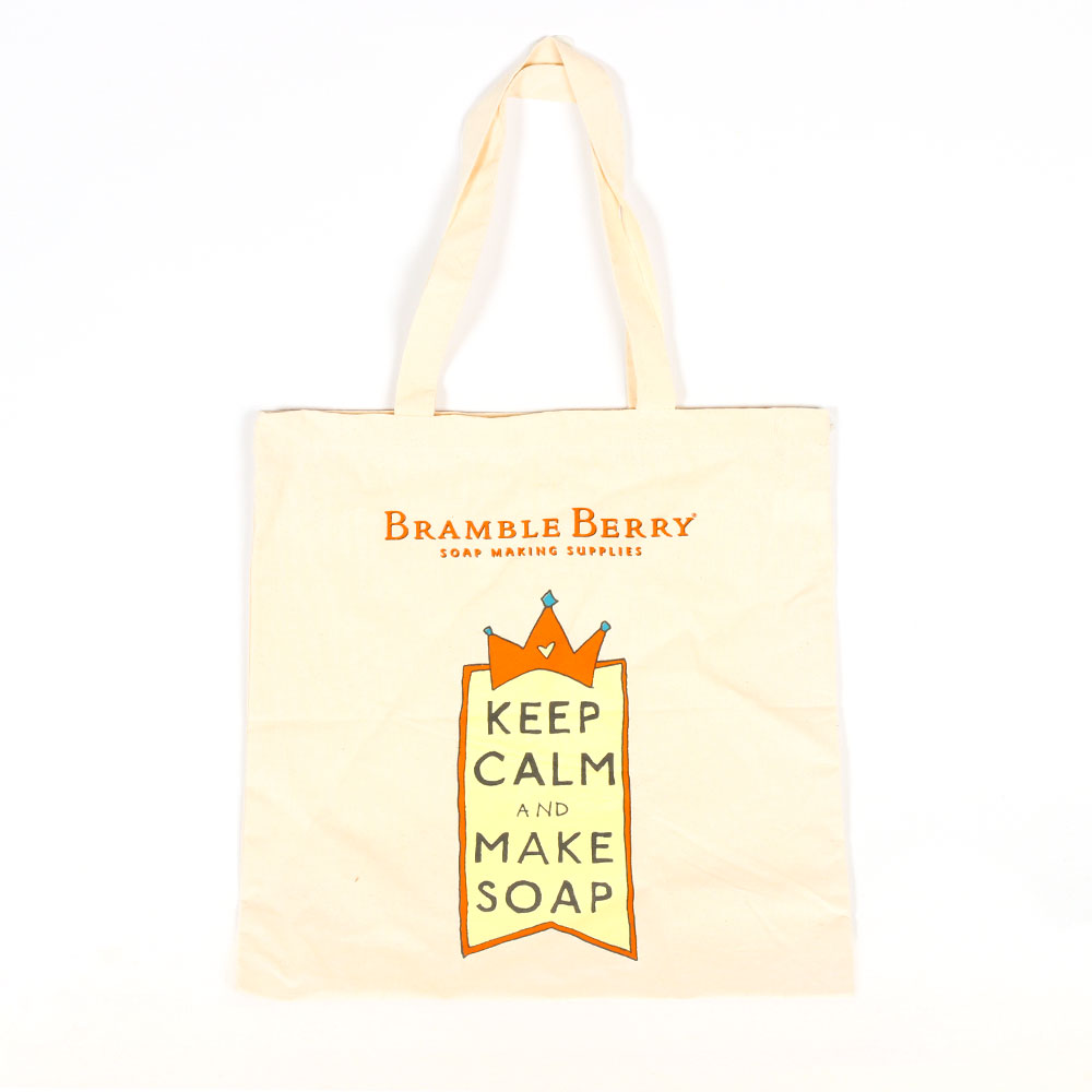 Keep Calm Cotton Tote Bag