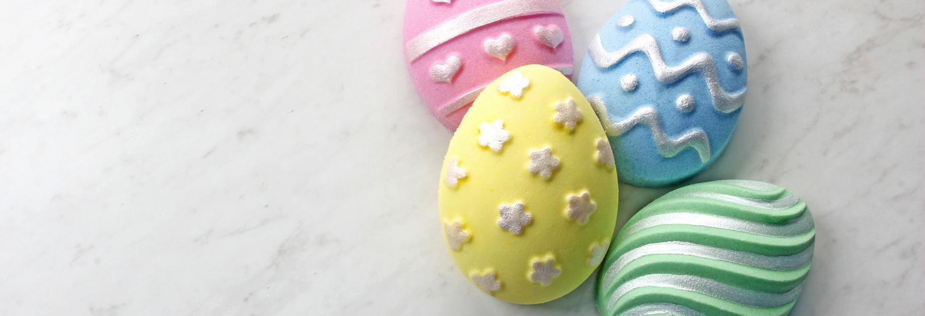 Easter Egg Bath Bombs