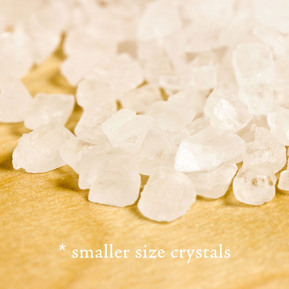 Large Bath Crystals