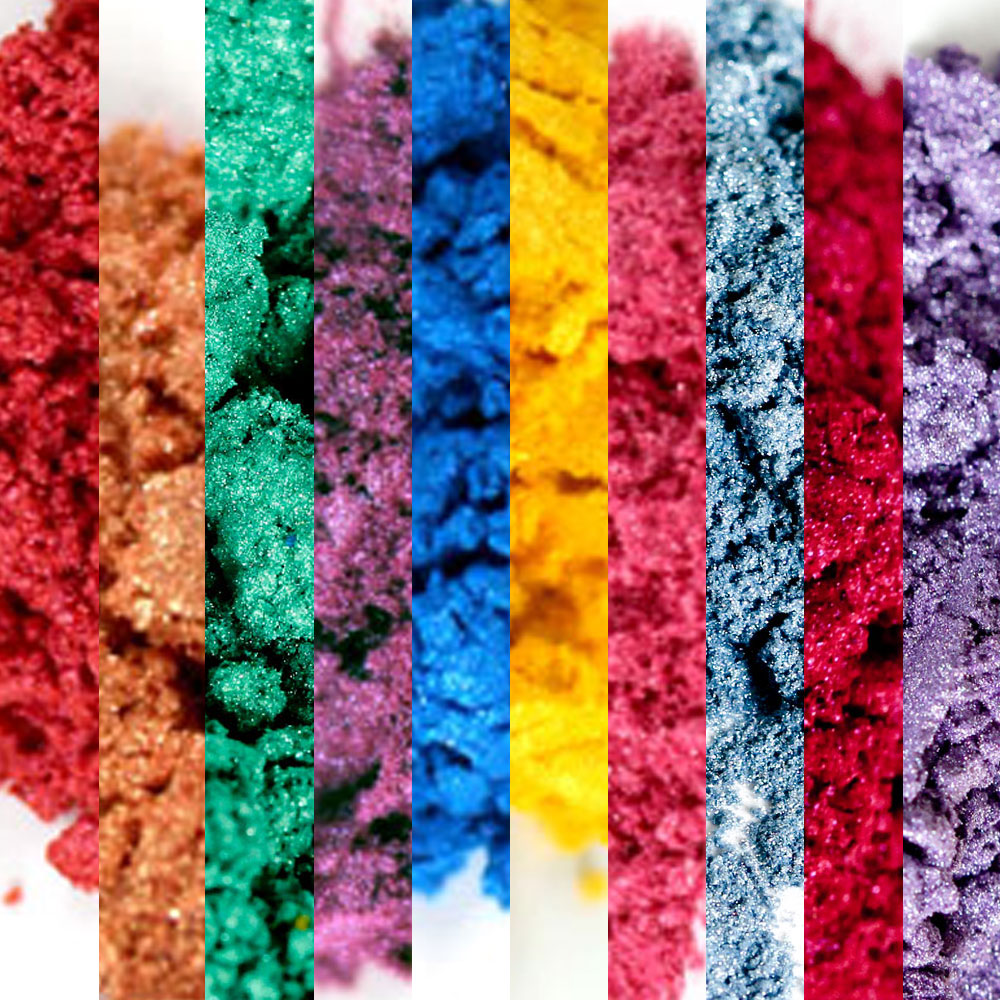 Brights and Pastels Mica Sampler Pack