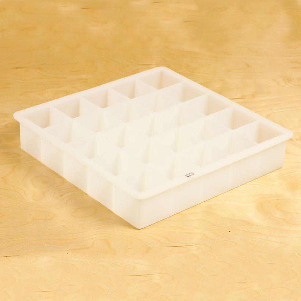 25 Cube Soap Silicone Mold