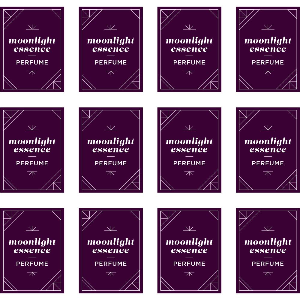 Moonlight Essence Perfume Labels - Free PDF