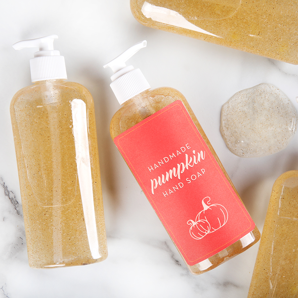 Pumpkin Liquid Soap Kit