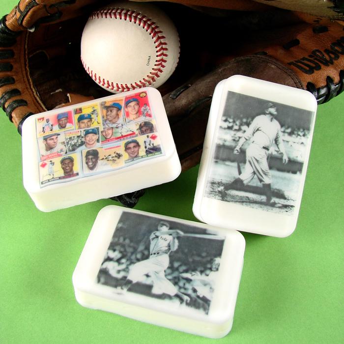 Vintage Baseball Soap Kit