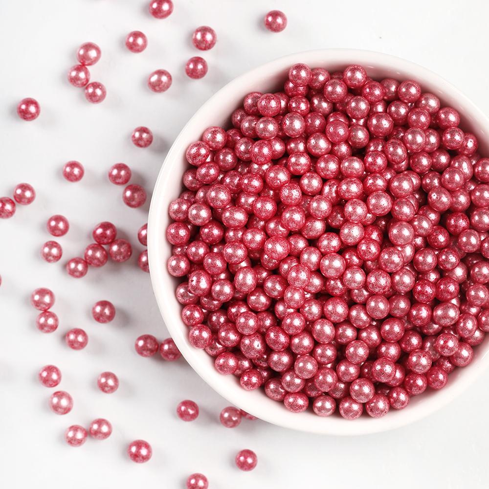Sugar Pearls - Rose