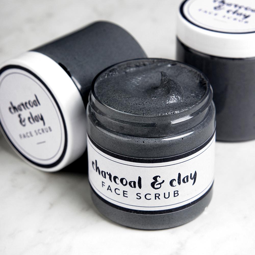 Charcoal Facial Scrub Project