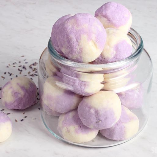 Lavender Bath Truffle Project