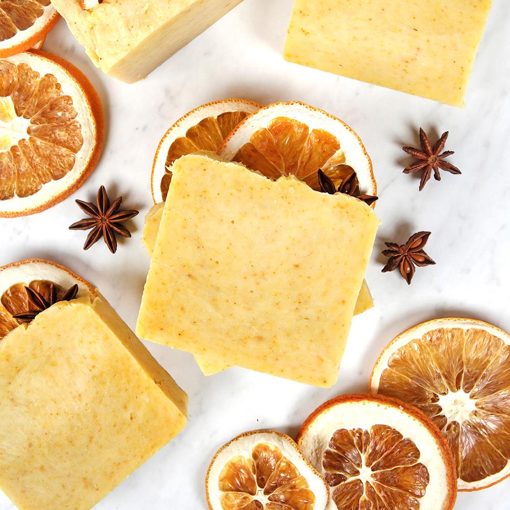 Orange Spice Hot Process Soap Project