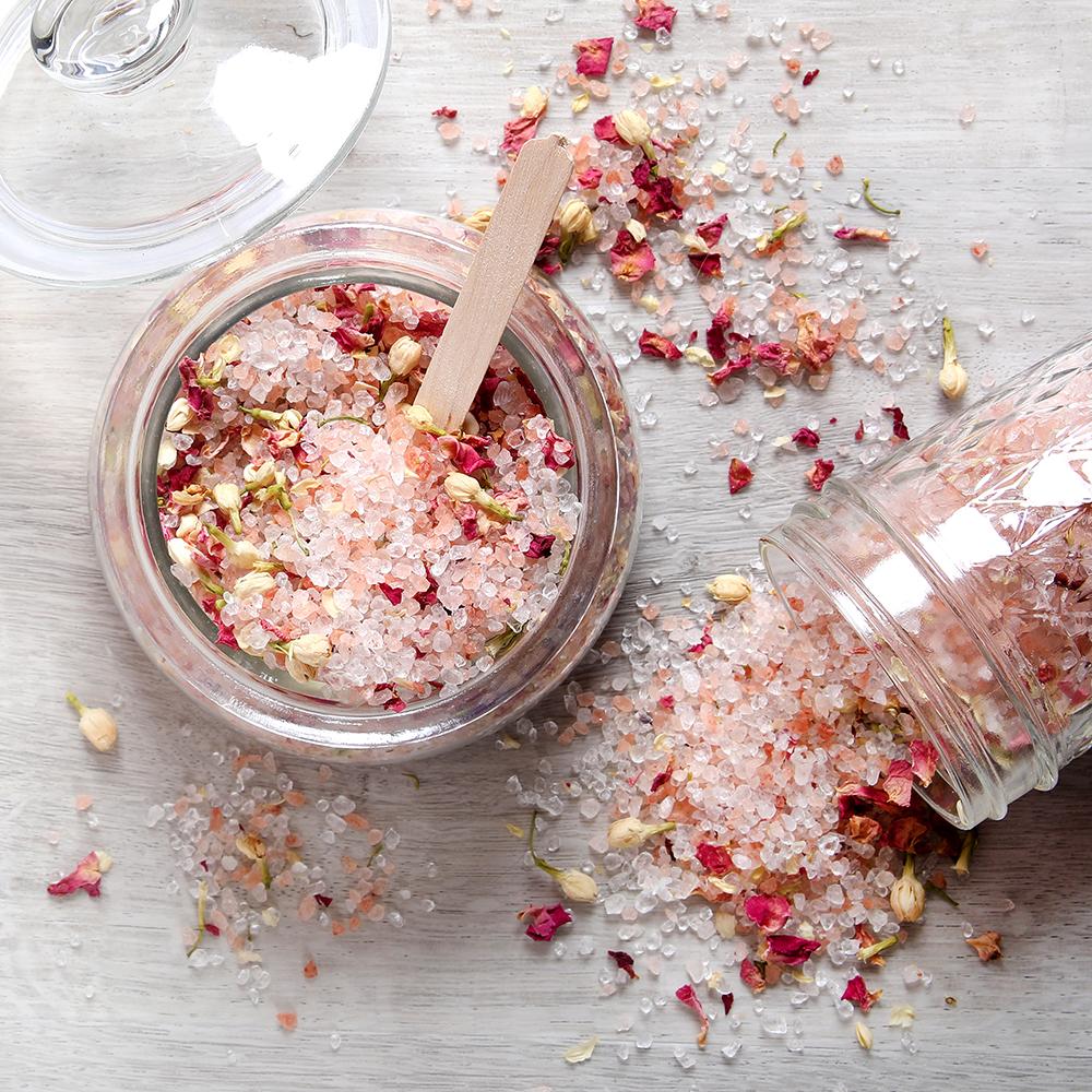Wild Rose Bath Salts Project