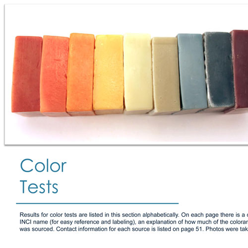 E-Book: Coloring Soap Naturally