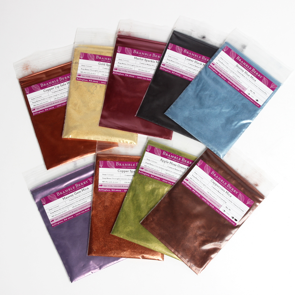 Earthtone Metallics Mica Sampler Pack