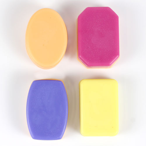 4 Basic Guest Soaps Mold