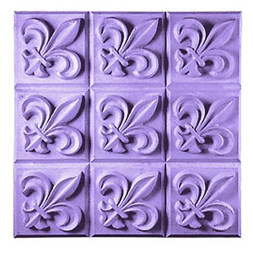 Fleur De Lis Tray Mold