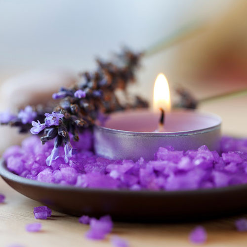 Image result for lavender candle