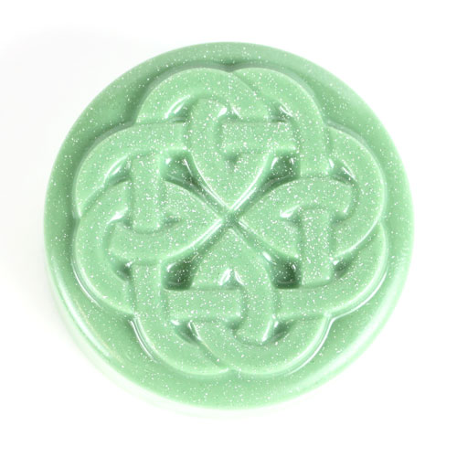 Guest Mini Celtic Kells Knot Mold, 1 sheet