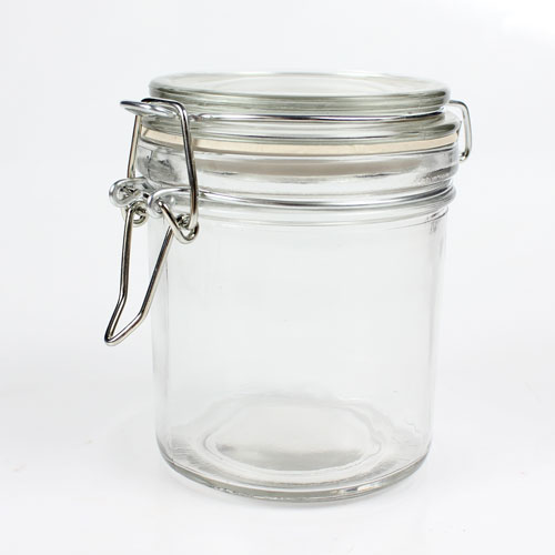 Discontinued - 8 oz Glass Bail Jar