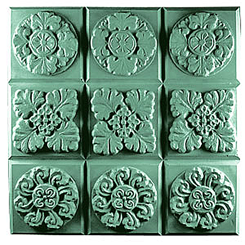 Gothic Floral Tray Mold