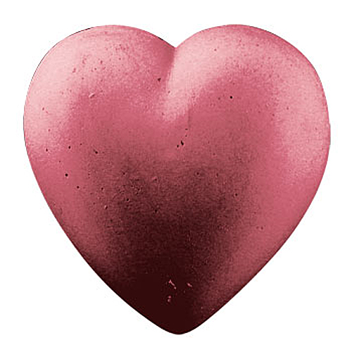 Guest Plain Heart Mold