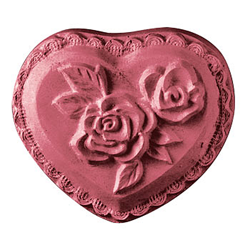 Heart With Rose Mold