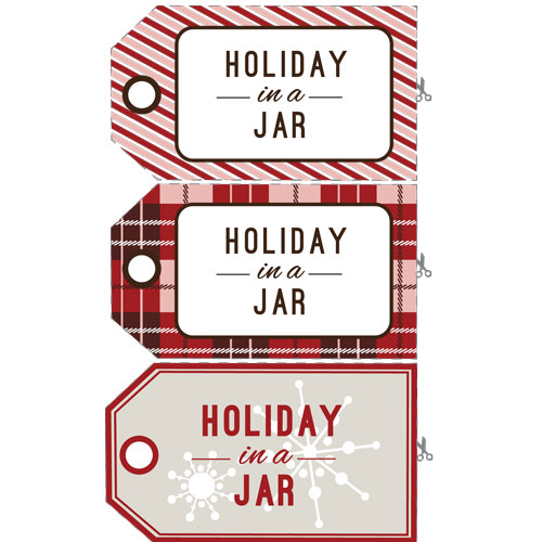 Free Holiday Potpourri Downloadable Labels PDF