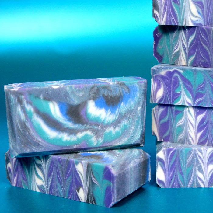 Galaxy Clyde Slide Cold Process Soap Kit