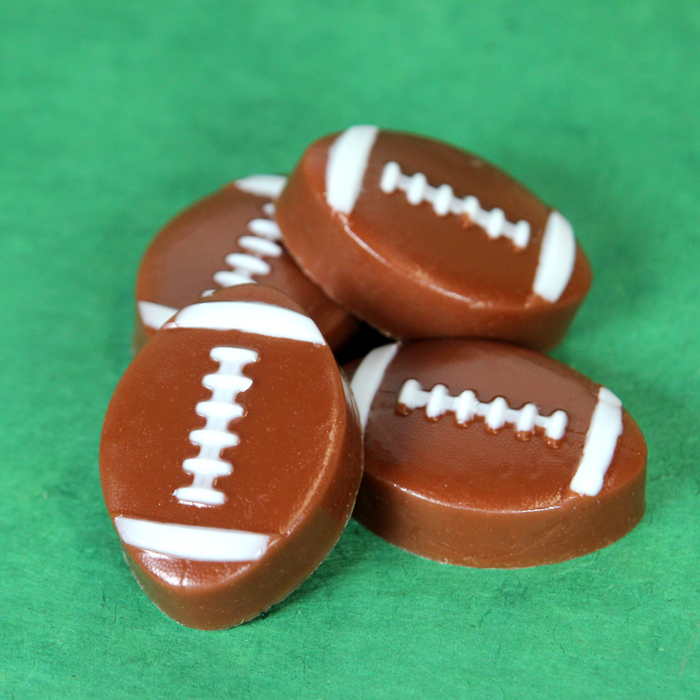 Mini Melt and Pour Football Soap Kit