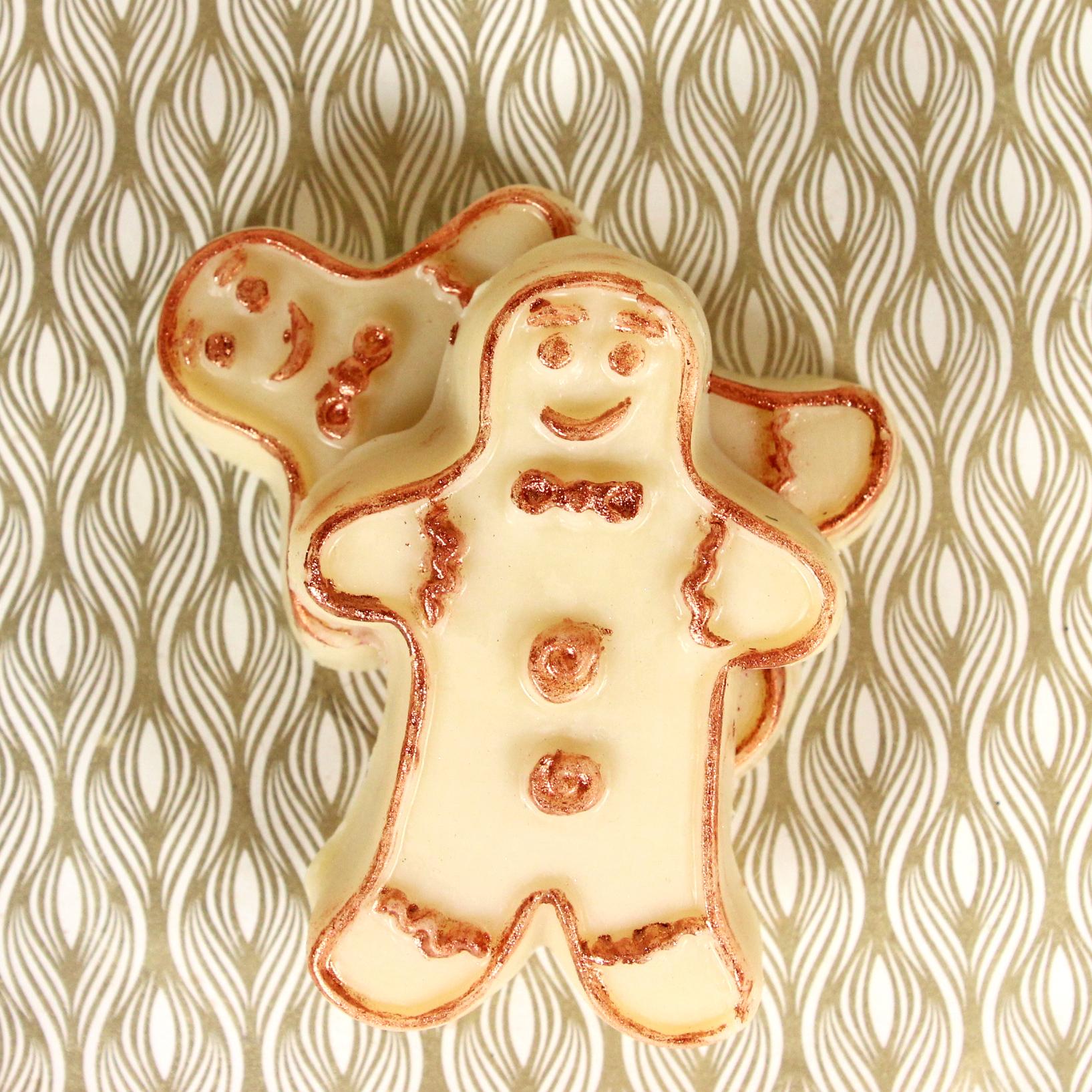 Gingerbread Man Lotion Bar Kit