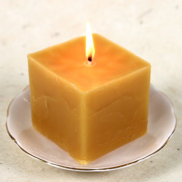 Pure Honey Beeswax Candle Kit