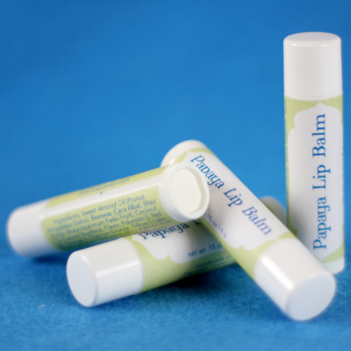 Lip Balm Label Templates - Free Downloadable File
