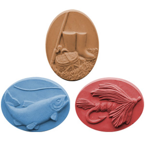 DISCONTINUED - Gone Fishing Soap Mold