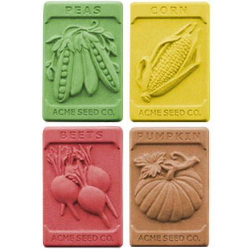 DISCONTINUED - Garden Seeds Soap Mold