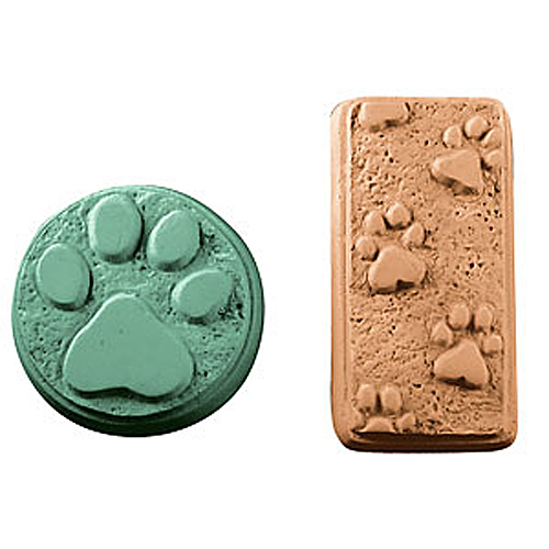 DISCONTINUED - Paw Prints Mold