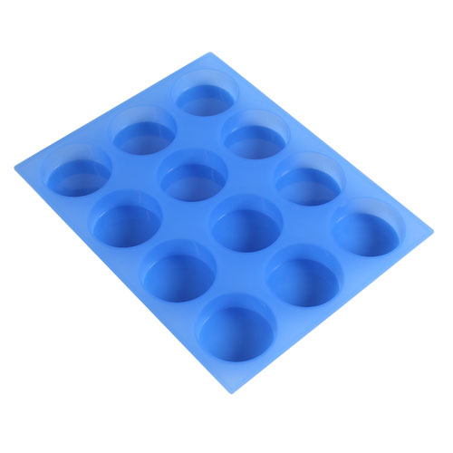 12 Bar Round Silicone Mold