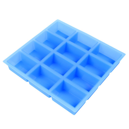 12 Cavity Rectangle Silicone Mold