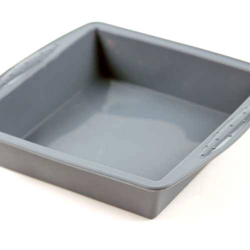 DISCONTINUED - Glossy Silicone Square Tray Mold