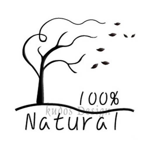 100% Natural (Windy Tree) Soap Stamp