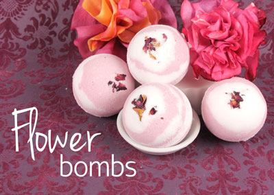 Pikake Flower Bath Bombs